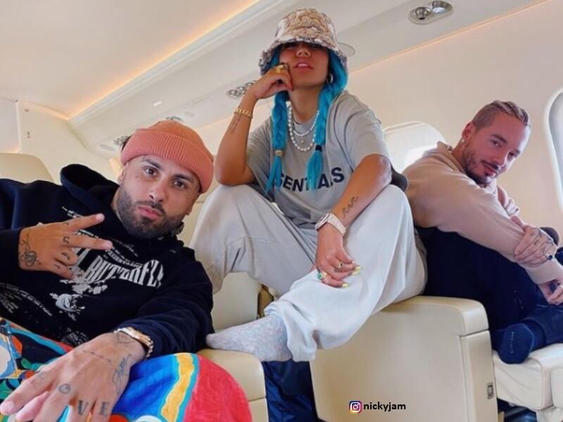 J Balvin, Nicky Jam y Karol G