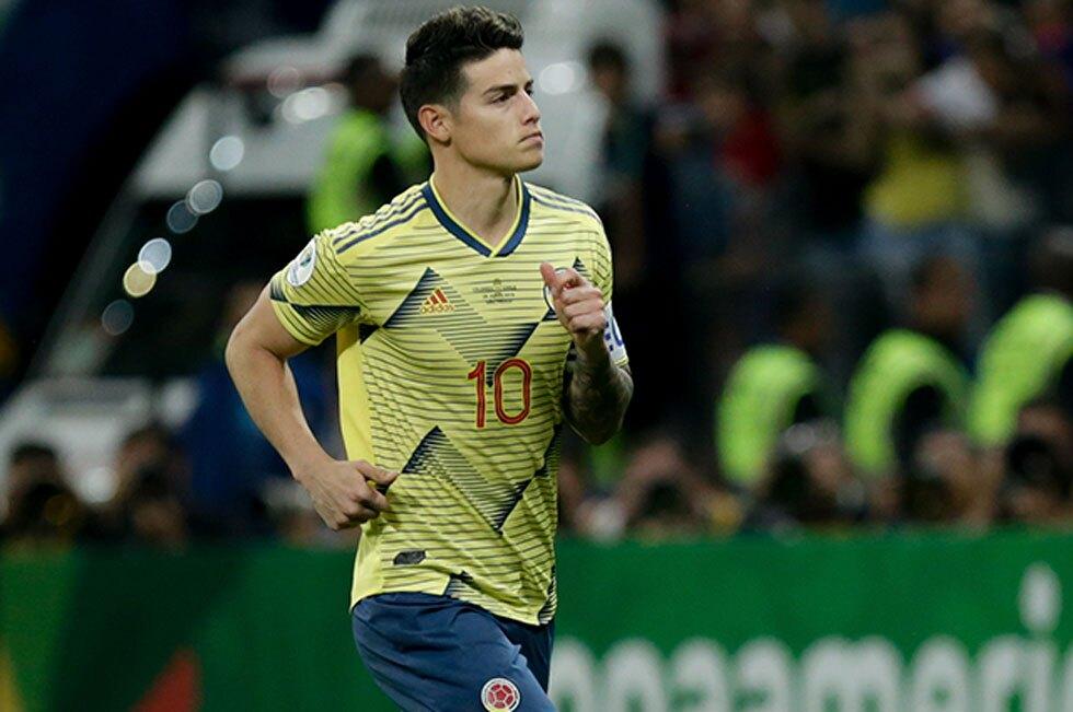 James Rodriguez selección Colombia