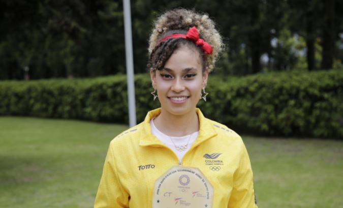 Andrea Ramírez representará a Colombia en los Juegos Olímpicos de Tokio 2020.