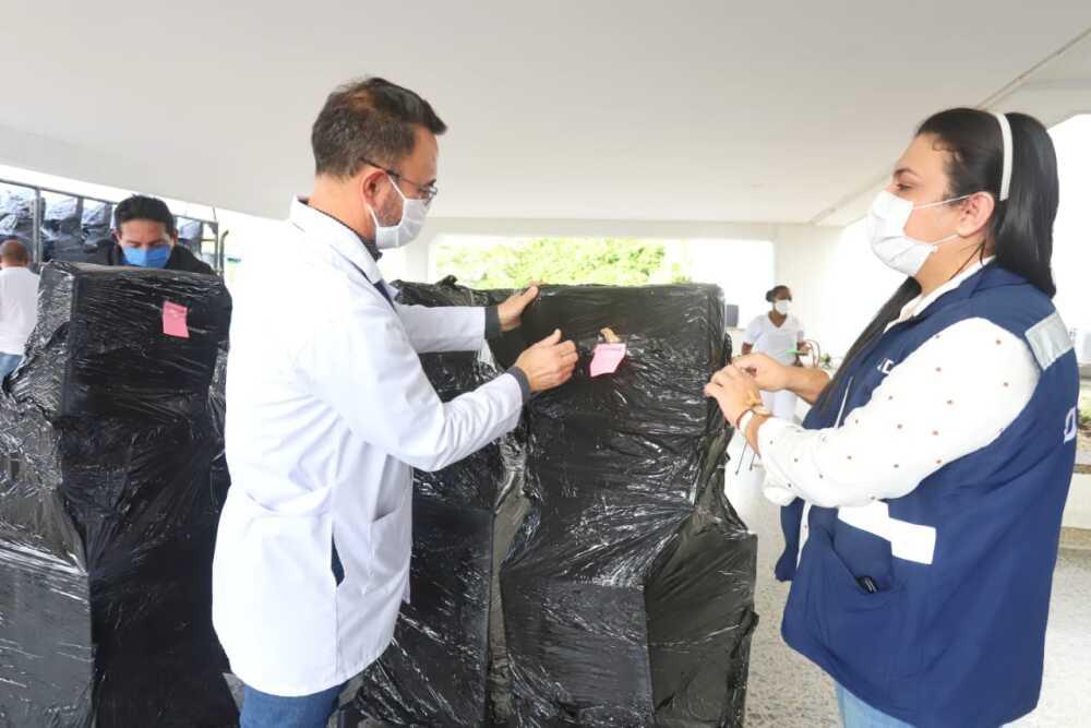 370868_Ventiladores entregados a Cartagena. Foto: Cortesía
