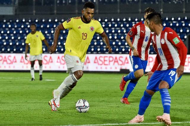 Colombia vistió a Paraguay