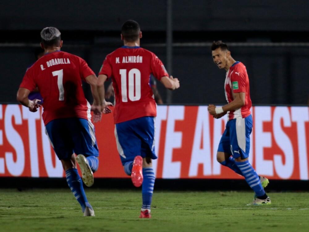 Gol paraguay