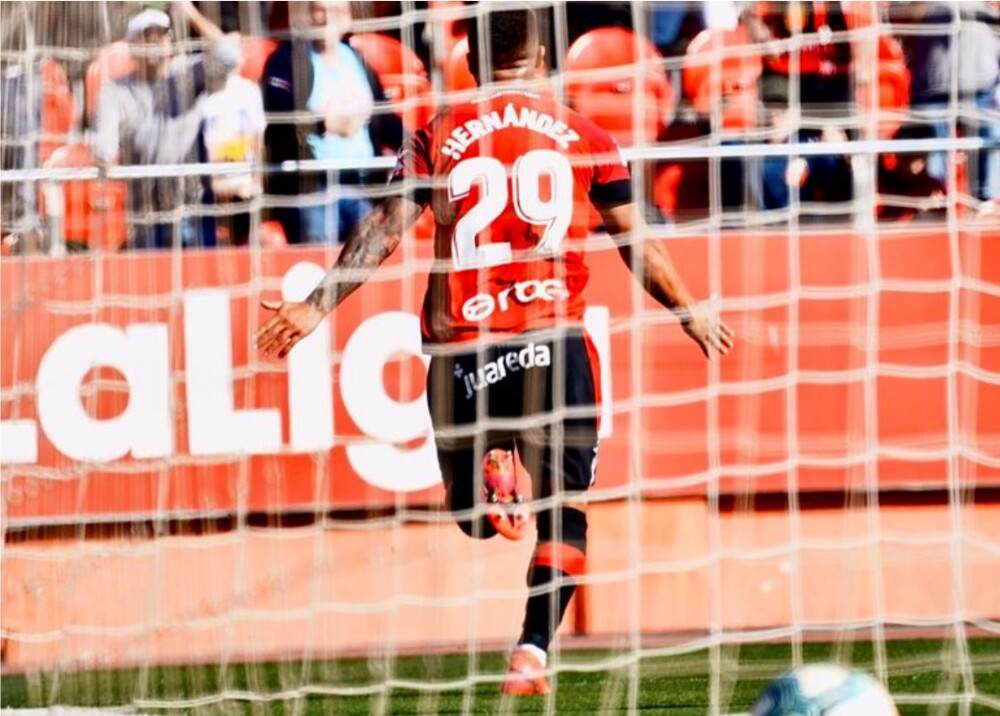 355439_'Cucho' Hernández // Foto Twitter: @RCD_Mallorca@RCD_Mallorca