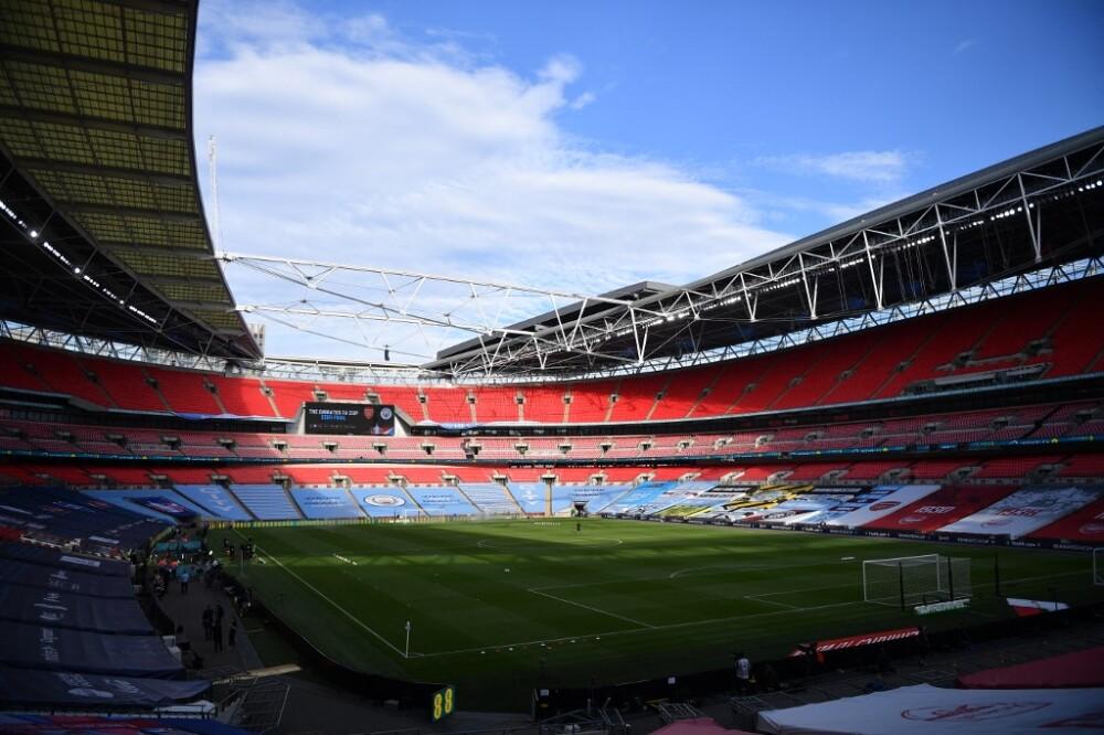 Wembley. Foto AFP
