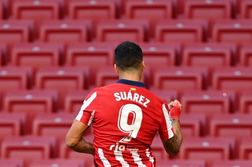 Luis Suárez primer gol Atlético Madrid