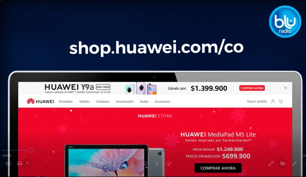 Tienda Huawei en Colombia