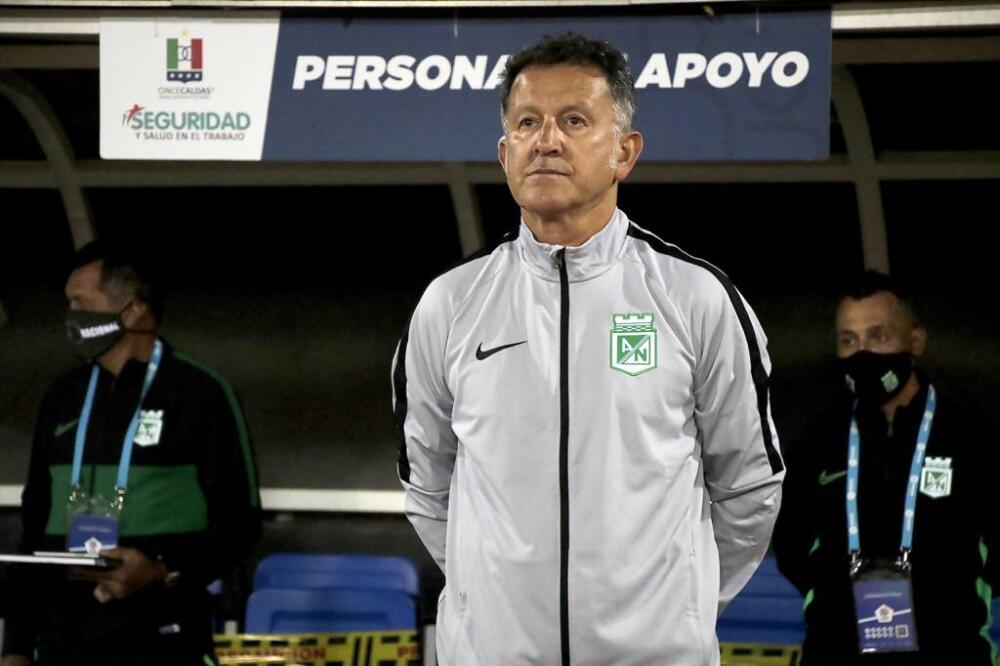 Juan Carlos Osorio, entrenador de Nacional