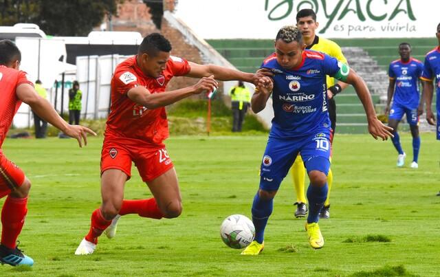 Patriotas Boyaca  vs Deportivo Pasto , 14-10-2020. LBP I_2020