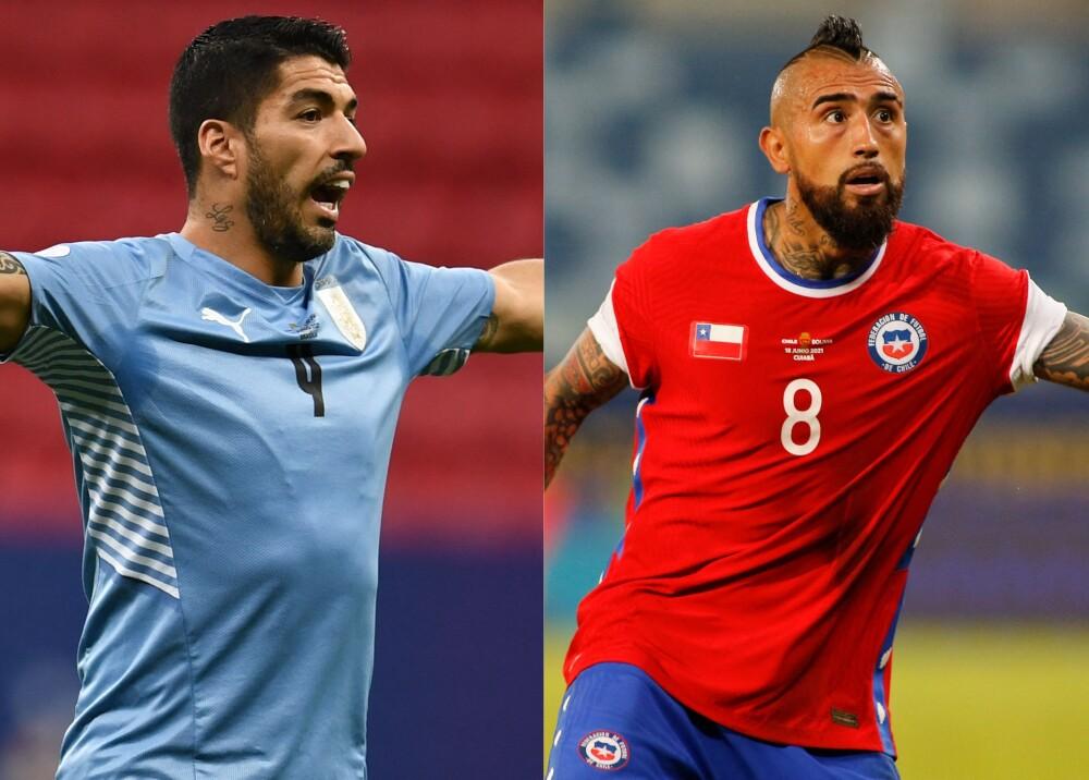 Selecciones de Uruguay y Chile Foto AFP.jpg