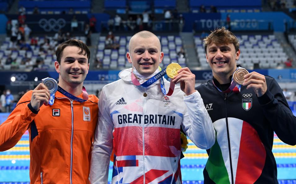 Medallista de los Juegos Olímpicos podrán tomarse fotos sin mascarilla en el podio.
