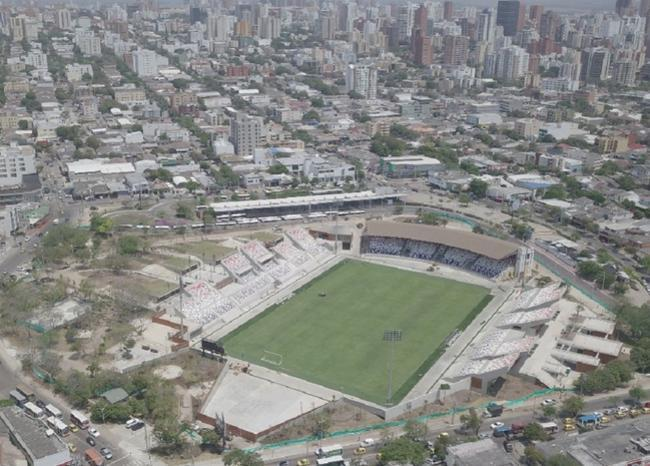 328437_BLU Radio. Estadio Romelio Martínez de Barranquilla / Foto: Alcaldía de Barranquilla