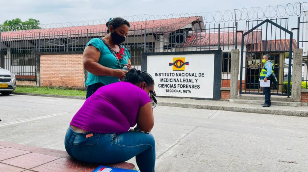 Mujer que reclama cuerpo de su hija reclutada por disidencias.jpeg