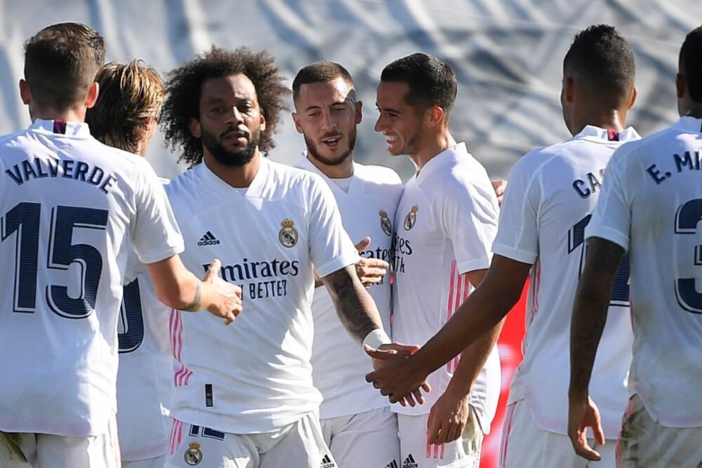 Real Madrid Celebra Eden Hazard 311020 AFPE E.jpg