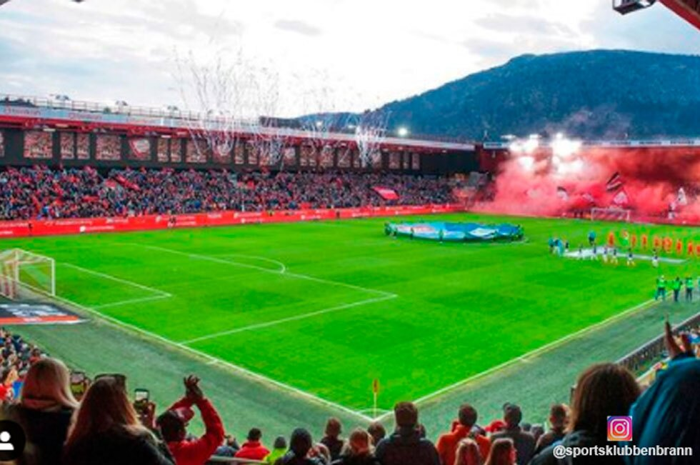 Estadio de fútbol Sportsklubben Brann
