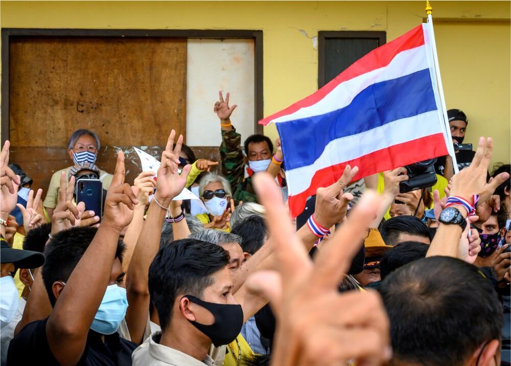 372768_Protestas en Tailandia // Foto: Referencia AFP