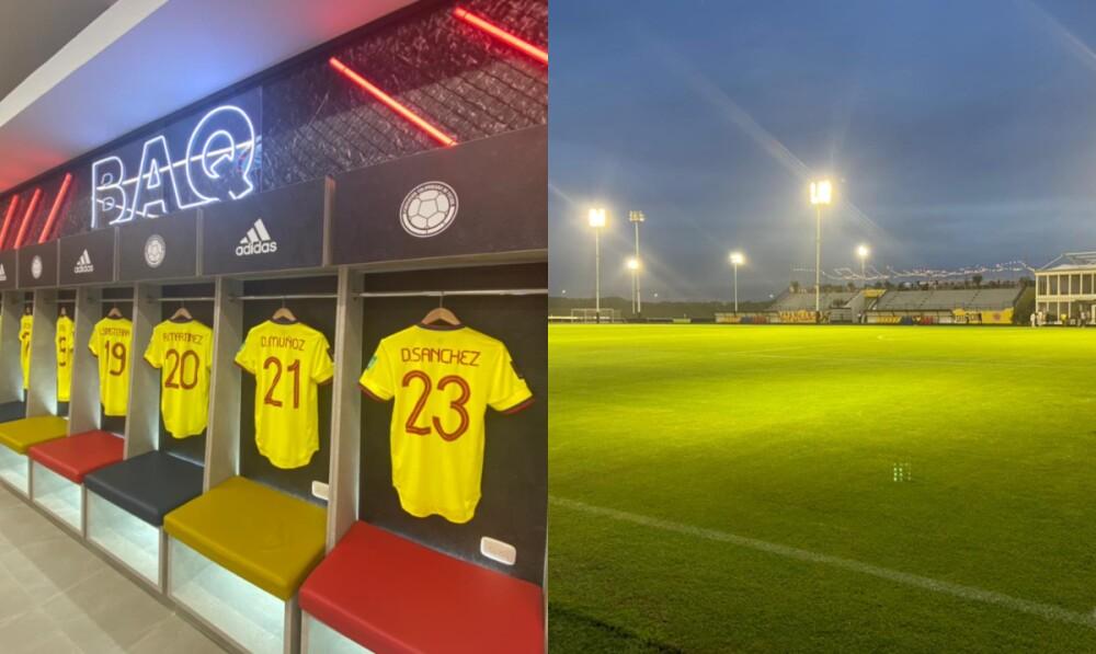 La selección Colombia tiene nueva sede en Barranquilla .jpg