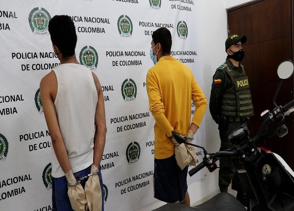 371315_BLU Radio: Capturados Bucaramanga / Foto: Suministrada