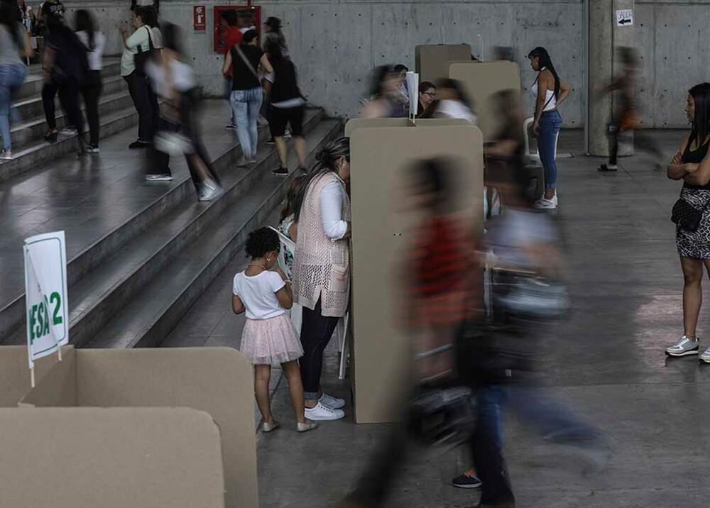 346243_Elecciones en Colombia 2019 // Foto: AFP