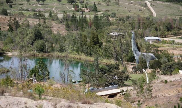 Pozos azules en Villa de Leyva