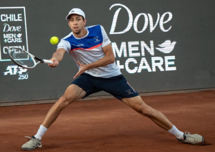 Daniel Galán cayó en la semifinal del ATP 250 de Chile.