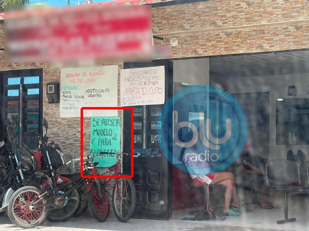Peluquería donde al parecer perpetraban trata de personas en Villavicencio