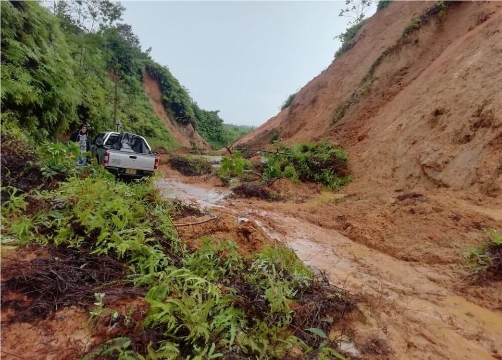 369972_Emergencia por lluvias en departamentos de Antioquia // Foto: Depard