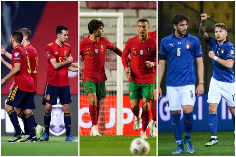 Partidos amistosos internacionales 4 de junio de 2021