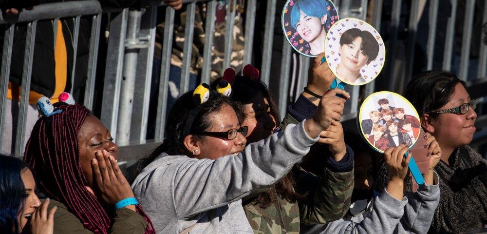 647509_Fans de BTS en 2019. Foto: Drew Angerer/Getty Images