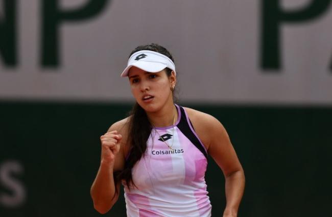 María Camila Osorio ganó en la primera ronda de la fase previa de Wimbledon.