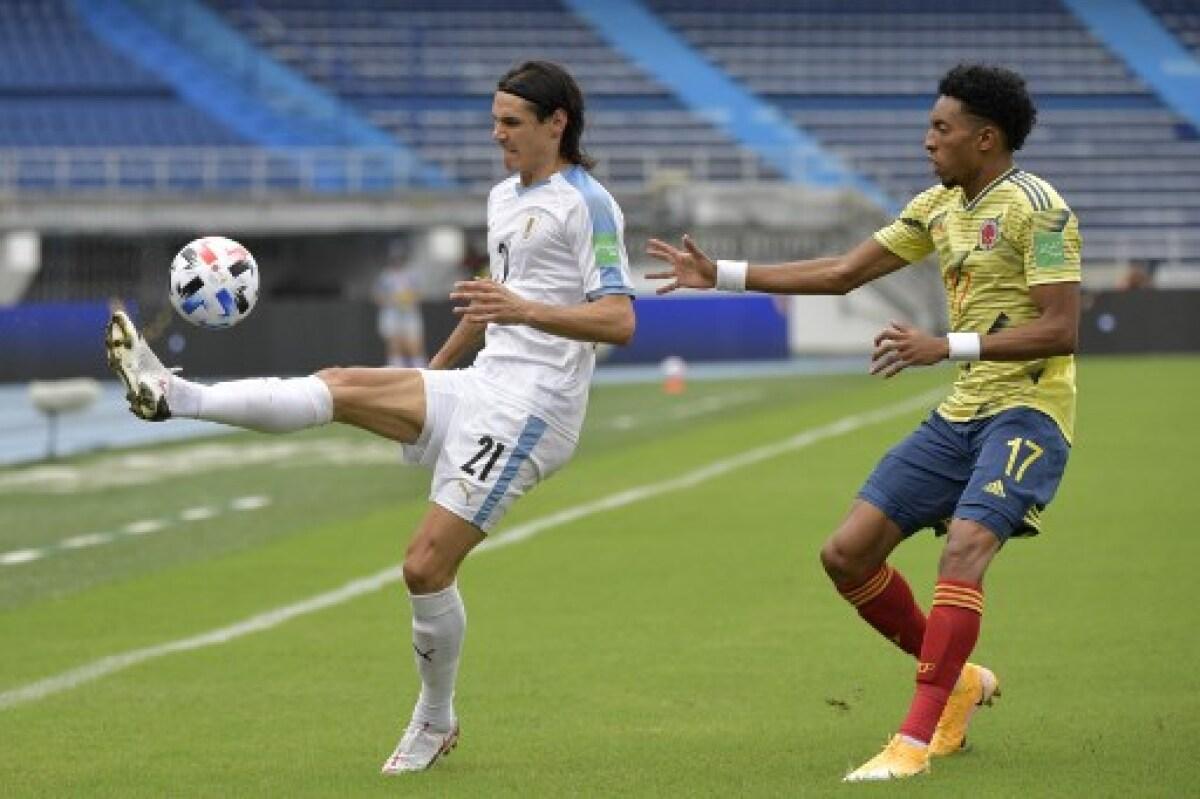 Colombia 0 vs. Uruguay 3: goleada de los 'charrúas' en Barranquilla