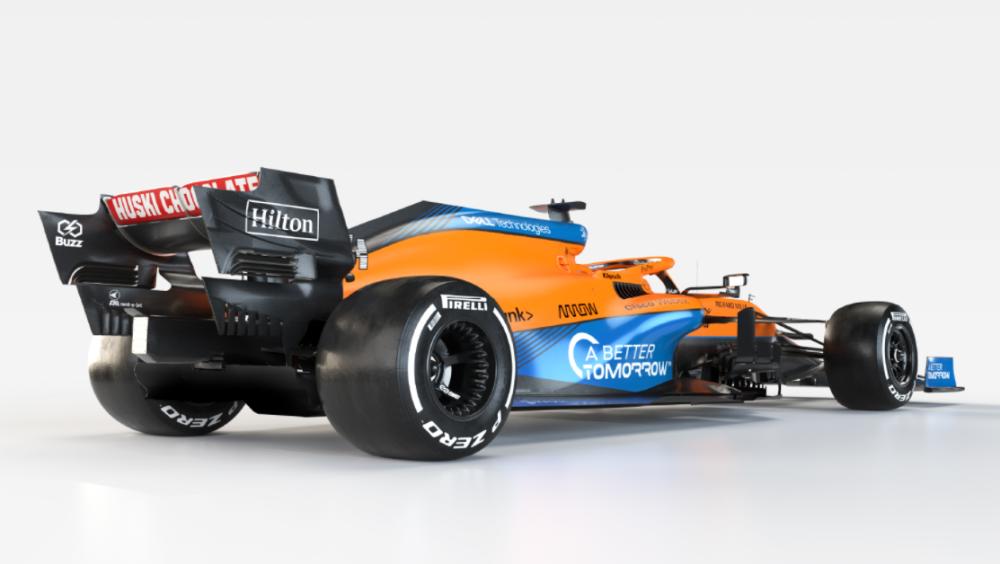 Nuevo monoplaza de McLaren con motor Mercedes-AMG