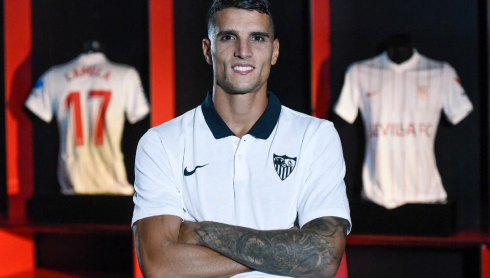 Erik Lamela, nuevo jugador de Sevilla. Sevilla Oficial.jpeg