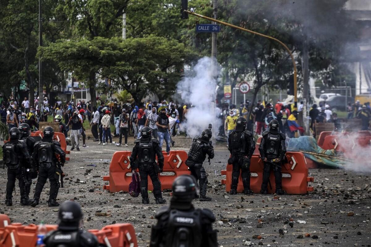 Disturbios en Cali