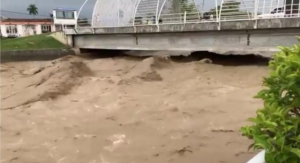 Crecida del río Tuluá