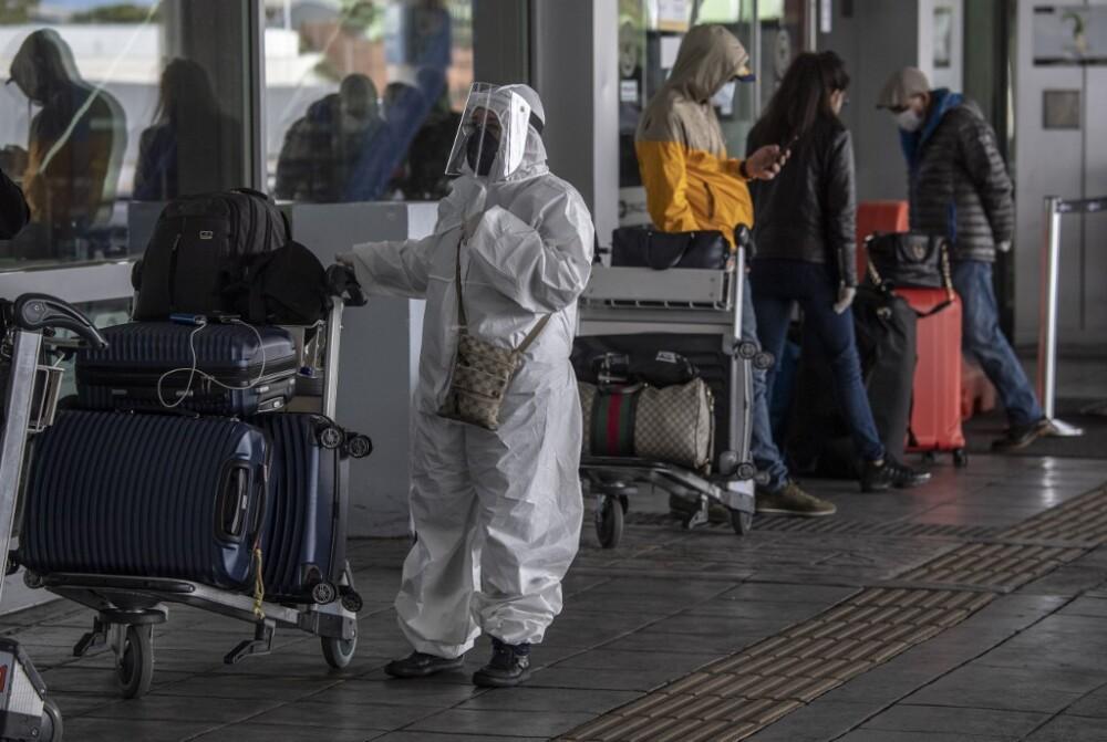 Viajeros en pandemia.