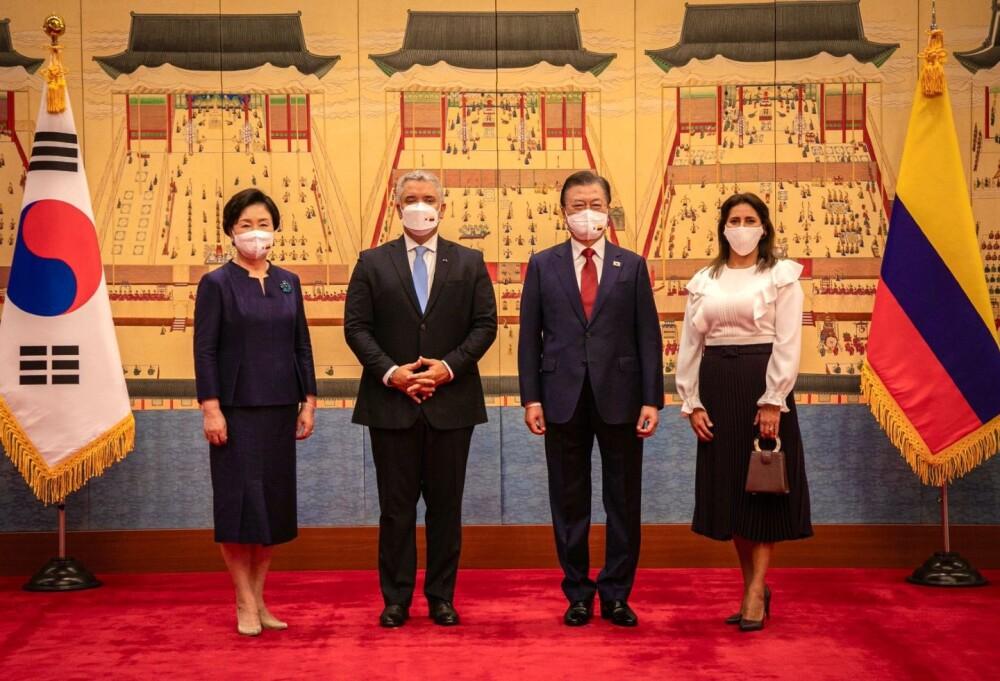 Iván Duque en Corea del Sur