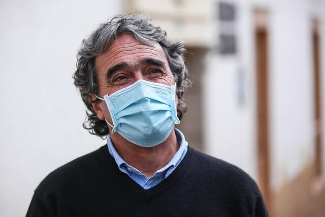 Sergio Fajardo, operado de urgencia