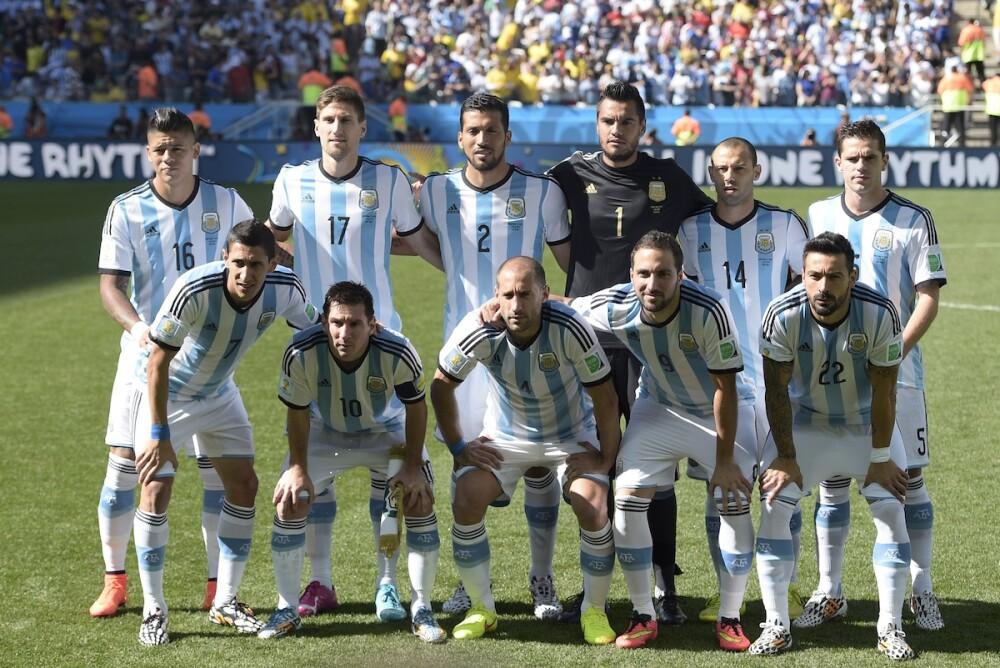 Selección Argentina 2014 / AFP
