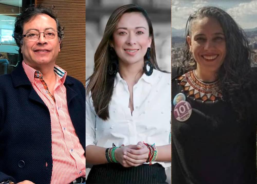 Petro, Miranda y Pizarro
