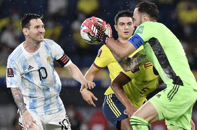 David Ospina en Selección Colombia contra Argentina
