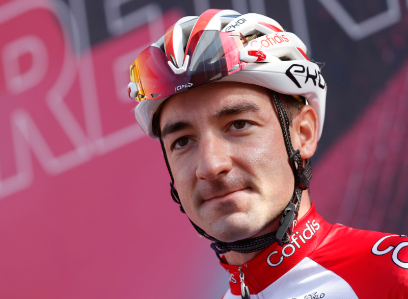 Elia Viviani, ciclista italiano del Cofidis.