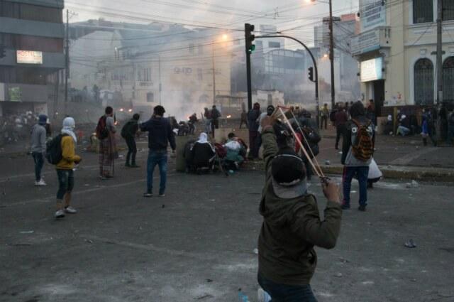 322887_Disturbios en Quito, Ecuador