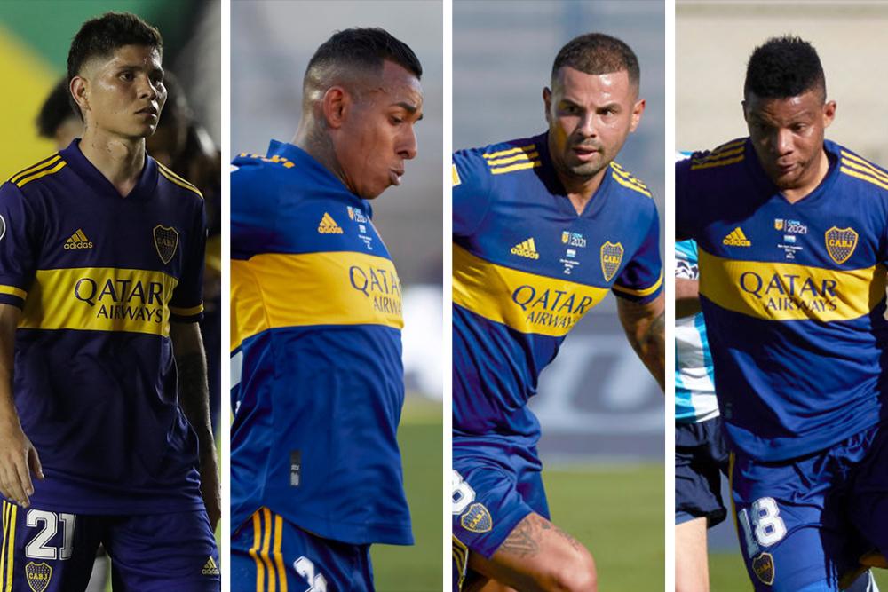 Jugadores colombianos en Boca Juniors. Getty Images.png