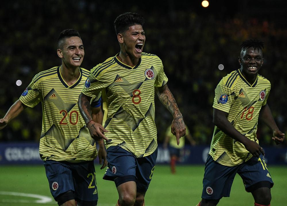 353304_BLU Radio. Selección Colombia Sub-23 // Foto: AFP