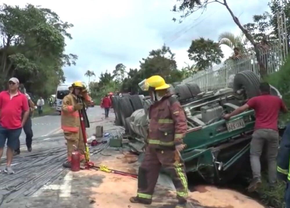 336447_BLU Radio. Accidente de tránsito en Moniquirá, Boyacá // Foto: BLU Radio