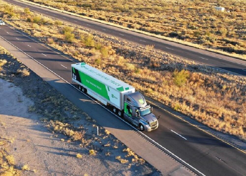 334635_BLU Radio. Camiones de carga sin conductor / Foto: Tusimple