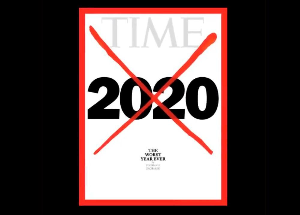 Portada de Time despide el 2020