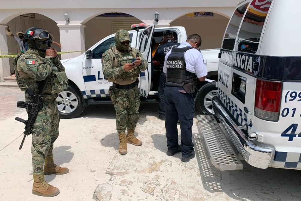 Policía en México referencia AFP.