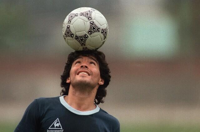 Diego Maradona, exfutolista argentino