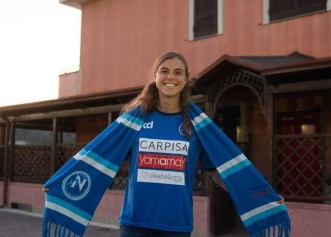 372196_Catalina Pérez / Foto @NapoliFemminile
